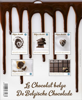 Chocolate stamp 1